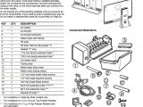Whirlpool Ice Maker Wiring Diagram Whirlpool Wpw10715708 Ice Maker assembly