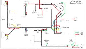 Willys Jeep Wiring Diagram Wiring Schematics Ewillys