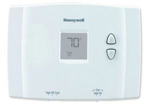 Wire Diagram for Honeywell thermostat Honeywell Horizontal Digital Non Programmable thermostat
