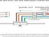 Wire Diagram for Light Switch Wiring A Ceiling Fan and Light with Two Switches Diagram Elegant