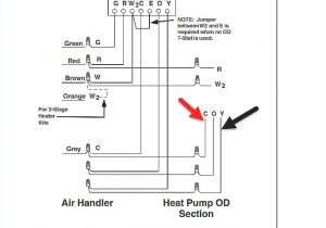 Wire Diagram for thermostat Electrical Contactor Wiring Diagram Elegant Home thermostat Wiring