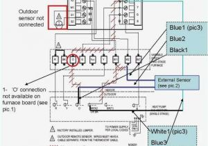 Wire Diagram for thermostat Honeywell thermostat Hookup Turek2014 Info