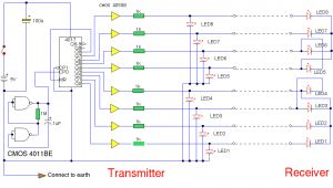 Wire Tracer Circuit Diagram How to Build Multi Wire Cable Tester Circuit Diagram
