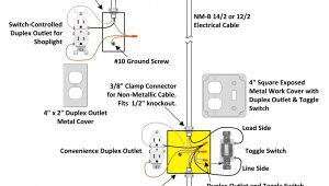 Wiring A Duplex Outlet Diagram Exposed Work Cover for Electrical Outlet and Light Switch