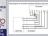 Wiring A Furnace thermostat Diagram thermost Wiring Ac Service Tech