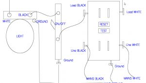 Wiring A Gfci Outlet with A Light Switch Diagram Gfci Receptacle with A Light Fixture with An On Off Switch In