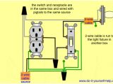 Wiring A Switch to An Outlet Diagram Basic Wiring Diagram Fourplex Wiring Diagram Options