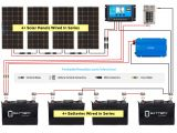 Wiring Diagram Dual Battery System solar Panel Calculator and Diy Wiring Diagrams for Rv and Campers