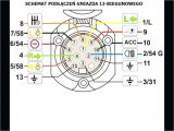 Wiring Diagram for 13 Pin Caravan socket Trailer Techteazer Com