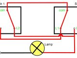 Wiring Diagram for 2 3 Way Switches Two Way Light Switching Explained Youtube