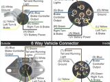 Wiring Diagram for 6 Pin Trailer Plug Six Pin Connector Wiring Diagram Wiring Diagram Mega