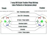Wiring Diagram for 7 Pin towing Plug ford 7 Way Trailer Plug Diagram Likewise 2004 F150 Trailer Wiring