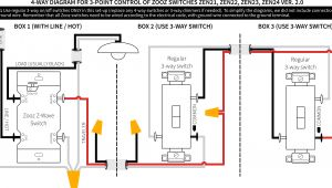 Wiring Diagram for A 4 Way Light Switch Zwave Light Switch Wiring Wiring Diagram Page