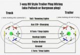 Wiring Diagram for A 7 Way Trailer Plug 7 Wire Trailer Connector Diagram Wiring Database Diagram