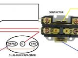 Wiring Diagram for A Air Conditioner Run Capacitor Hvac Contactor Wiring Blog Wiring Diagram