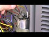 Wiring Diagram for A Air Conditioner Run Capacitor Hvac Training Dual Capacitor Checkout Youtube