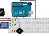Wiring Diagram for Door Entry System Arduino Rfid Door Lock Project Using Arduino Uno Rfid Reader Em 18