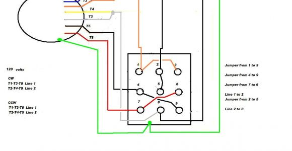Wiring Diagram for forward Reverse Single Phase Motor 5 Wire Motor Reversing Diagram Wiring Diagram