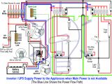 Wiring Diagram for Inverter Wiring A Ups Wiring Diagram Technic
