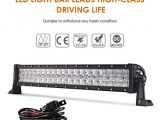 Wiring Diagram for Light Bar Amazon Com Auxbeam 22 Inch Led Light Bar Curved 120w Led Off Road