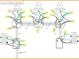 Wiring Diagram for One Way Light Switch Wiring A Switch to Multiple Lights Wiring Diagram for You