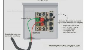 Wiring Diagram for Phone Jack Phone Jack Wiring Colors Wiring Diagram Page