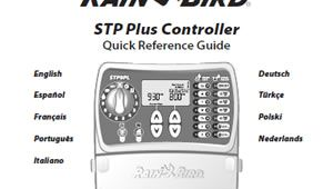Wiring Diagram for Rain Bird Sprinkler System Rain Bird Stp Plus Series Sprinkler Timer User Manuals and Instructions
