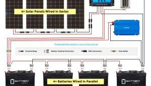 Wiring Diagram for solar Battery Charger solar Panel Calculator and Diy Wiring Diagrams for Rv and Campers