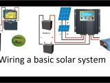 Wiring Diagram for solar Panel to Battery How to Wire A 12 Volt or A 24 Volt solar System with A Pwm or An
