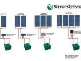 Wiring Diagram for solar Panels Iring Diagram for Wiring Two 12 Volt 1 00w solar Panels for 24 Volt