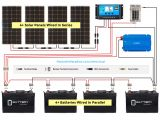 Wiring Diagram for solar Panels Wiring for Batteries Storing Leccy From solar Panels Book Diagram