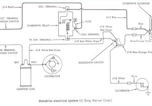 Wiring Diagram for Starter solenoid I Have A ford F with A Speed W Od Trans I Need to Know for