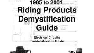 Wiring Diagram for toro Riding Mower toro Wheelhorse Demystification Electical Wiring Diagrams for All