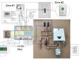 Wiring Diagram for Underfloor Heating thermostat thermal Zone Control Wiring Diagrams Wiring Diagram Db