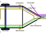 Wiring Diagram for Utility Trailer Wiring Diagram 4 Way Round Along with Vehicle to 4 Wire Trailer