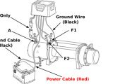 Wiring Diagram for Warn Winch Warn 1700 Winch Wiring Diagram Wiring Diagram
