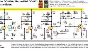 Wiring Diagram Ibanez Perf and Pcb Effects Layouts Ibanez Od 850 Maxon D S Od 801