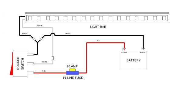 Wiring Diagram Led Light Bar Simple Light Bar Wiring Diagram Wiring Diagram Centre