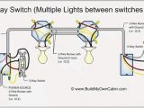 Wiring Diagram Three Way Light Switch A 3 Way Switch Multiple Lights Between Switches Conection De