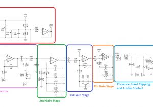 Wiring Diagrams for Guitars Guitar Amp Wiring Diagram Fresh Boss Od 1 Overdrive Guitar Pedal