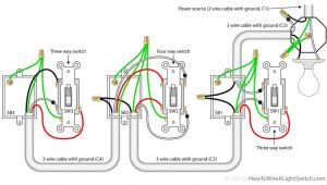 Wiring Multiple Lights and Switches On One Circuit Diagram Wiring Multiple Lights and Switches On One Circuit Diagram Awesome