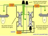 Wiring Two Lights to One Switch Diagram Wiring Two Schematics Side by Side In One Box Wiring Diagram Sys