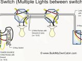 Wiring Two Switches to One Light Diagram Daisy Chain On One Switch Wiring Diagram Lights Wiring Diagram Load