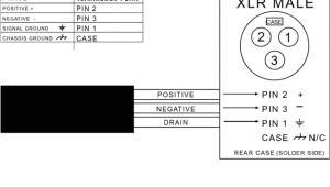 Xlr Wiring Diagram Balanced Connector Pinout Drawings Clark Wire Cable